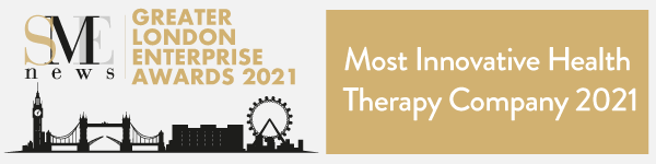 SME Greater London Enterprise Awards 2021 - Most Innovative Health Therapy Company 2021